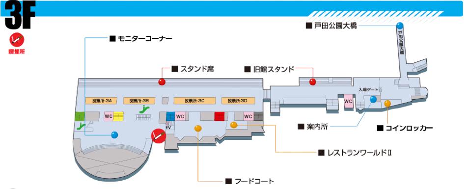 ボートレース戸田 3F
