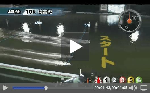 ボートレース桐生レース動画配信