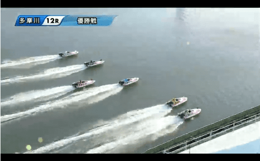 多摩川競艇場ライブリプレイ動画